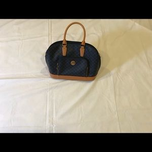 Rioni Navy Signature Dorm Handle Bag